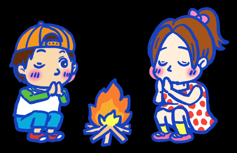 迎え火と送り火